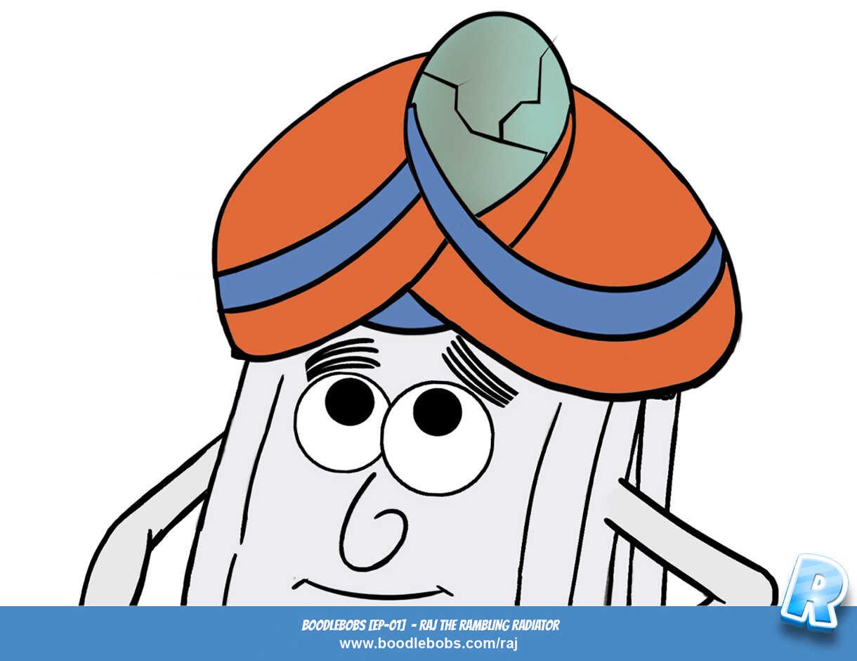 Stories For Kids, Raj The Rambling Radiator Page 5