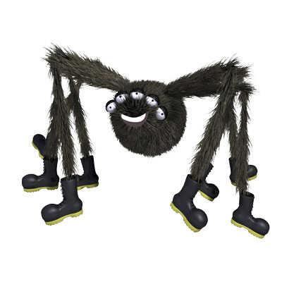 Story books online - Spicer the spider - BoodleBobs books for Children