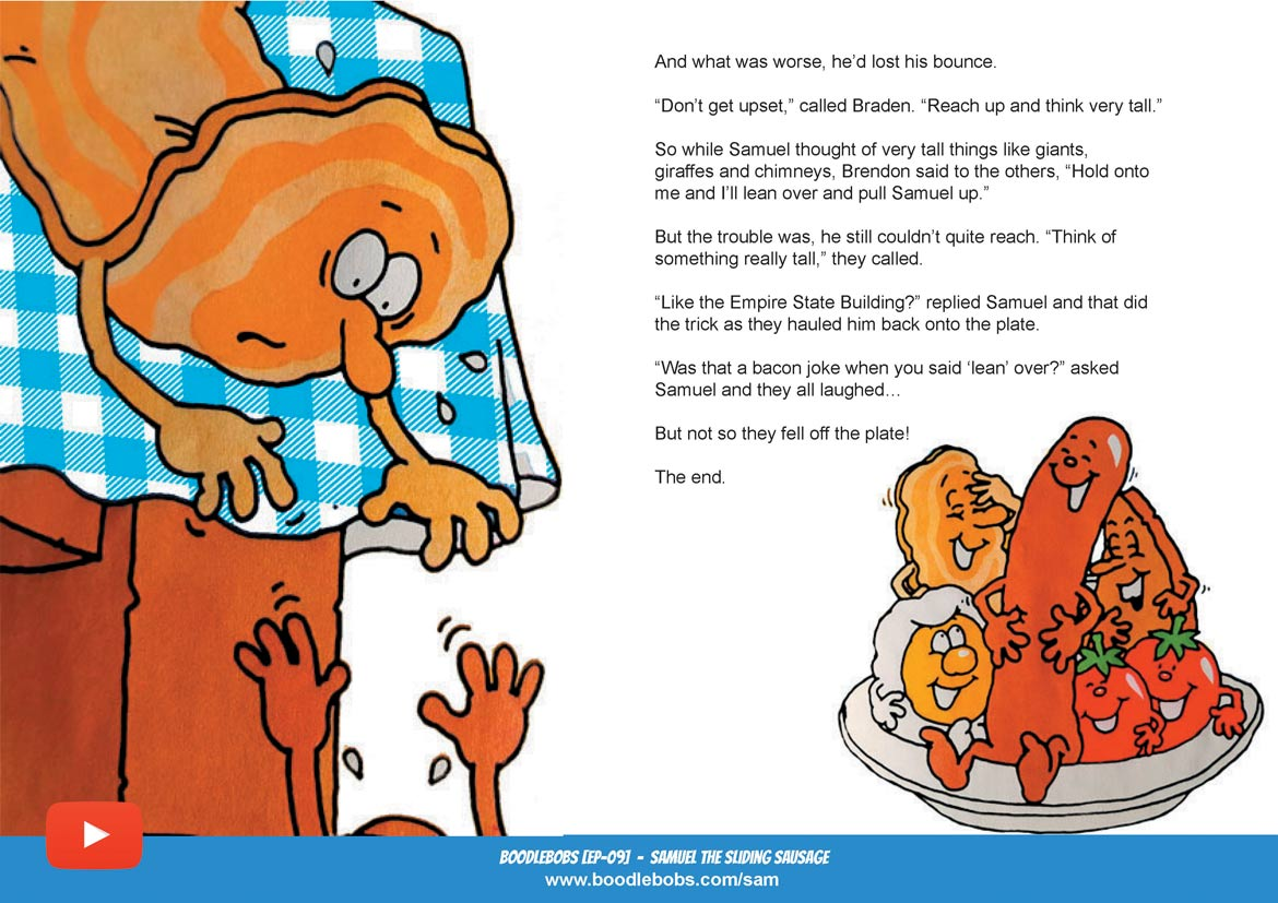 Samuel The Sliding Sausage Bedtime Stories For Child Book Page 5