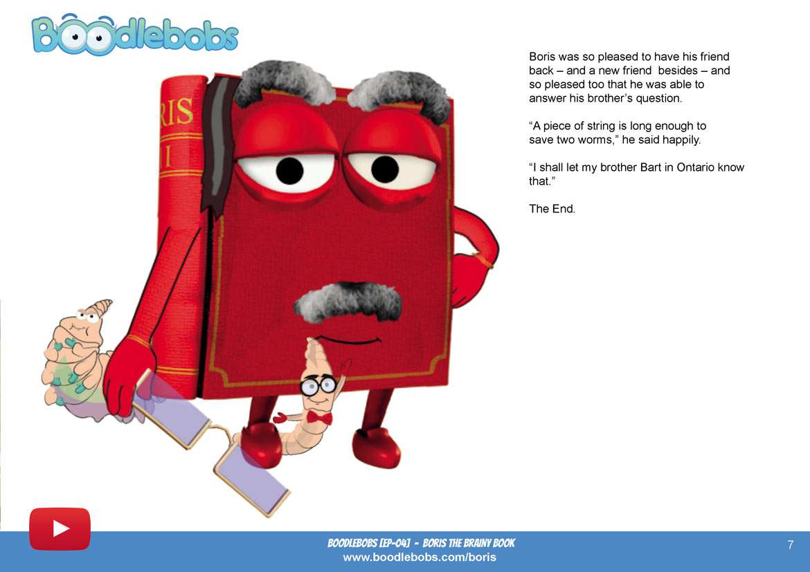 Bedtime Stories For Kids - Boris The Brainy Book Page 5