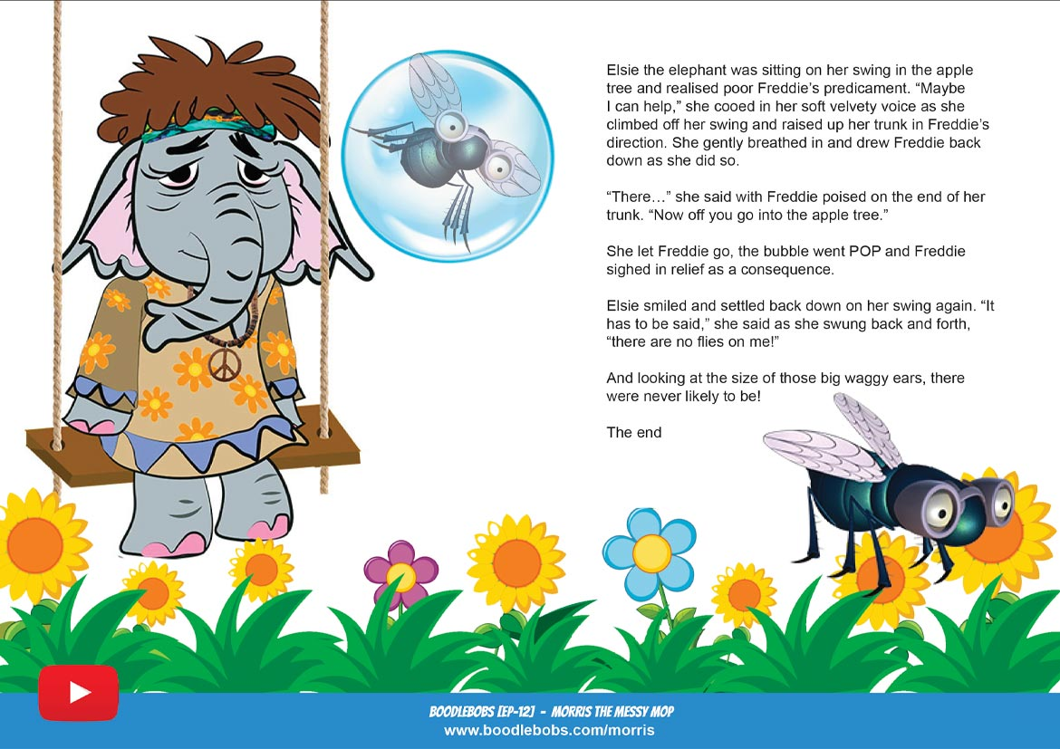 Morris the Messy Mop Childrens Book Page 5