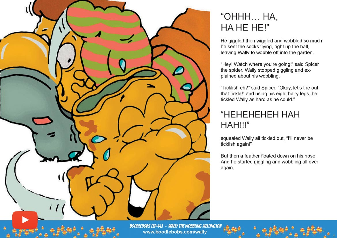 Read Aloud Bedtime Story – Wally The Wobbling Wellington Page 2