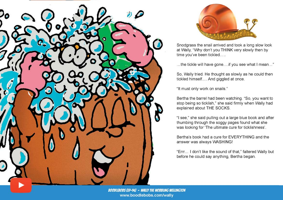 Read Aloud Bedtime Story - Wally The Wobbling Wellington Page 3 - BoodleBobs 14