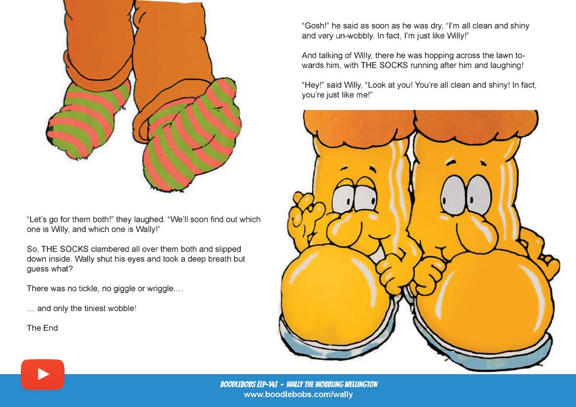 Read Aloud Bedtime Story - Wally The Wobbling Wellington Page 5 - BoodleBobs 14