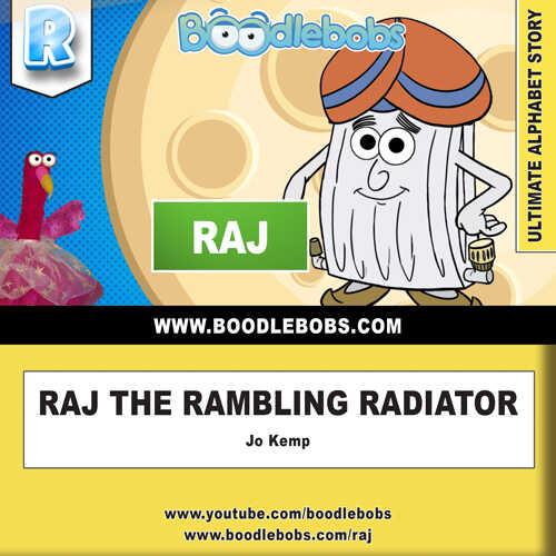 Stories For Kids – Raj The Rambling Radiator Book Cover