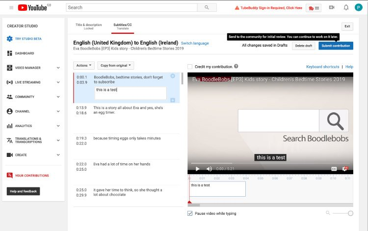 How To Translate A Video On Youtube - Help Guide Boodlebobs Img 5