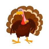 Turkey Song Christamas Thanksgiving-BoodleBobs Singing Turkey