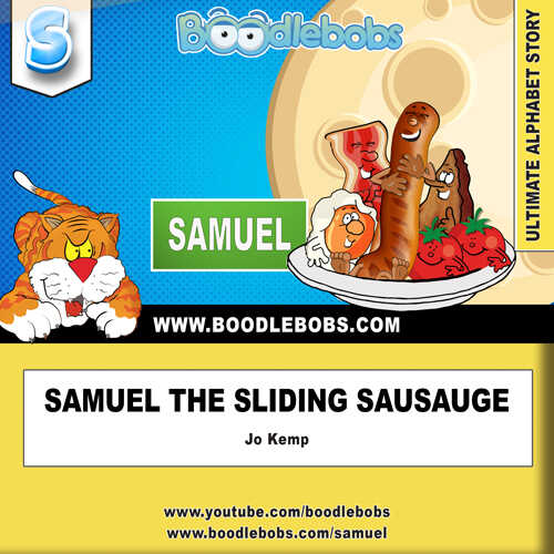 Bedtime stories child - Samuel the Sliding Sausage Book Cover