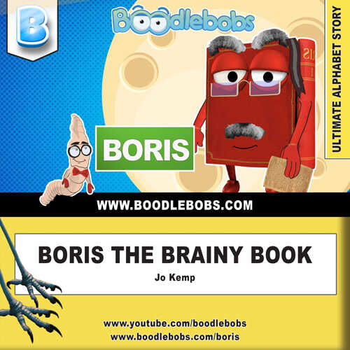Bedtime Stories For Kids – Boris The Brainy Book Cover
