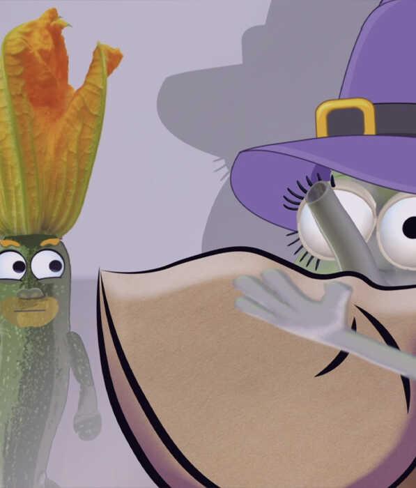 Bedtime Stories Kids - Zac The Zealous Zucchini Book Page 3