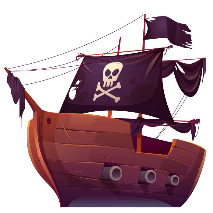 Books For Children Online Terence Playing Pirates