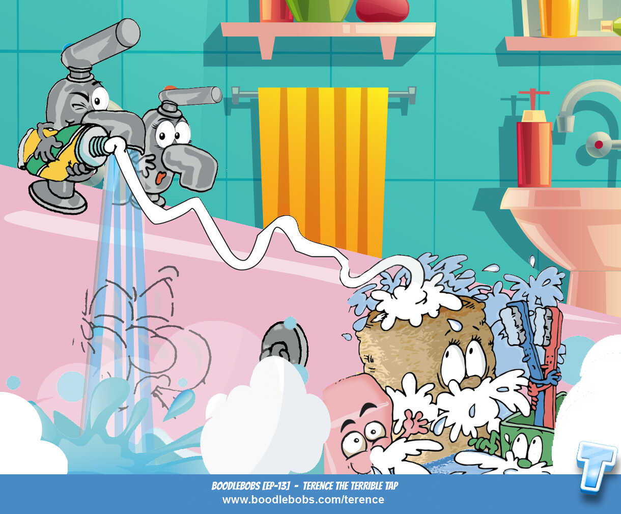 Books For Children Online Terence The Terrible Tap Page 3