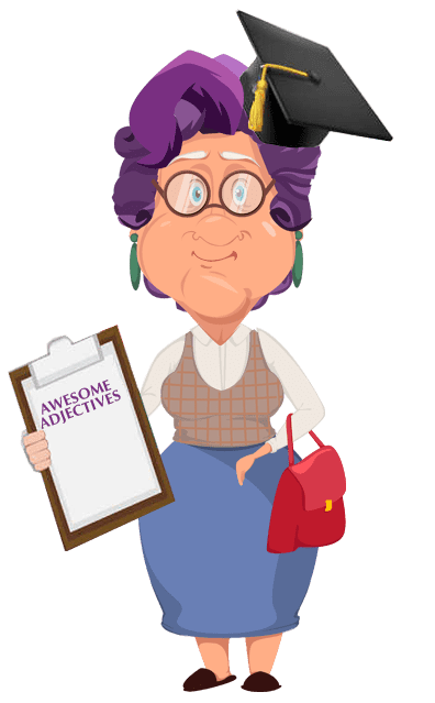 What is an adjective word - Granny Annie Explains