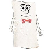 Short Stories Character, Nigel The Niggly Napkin