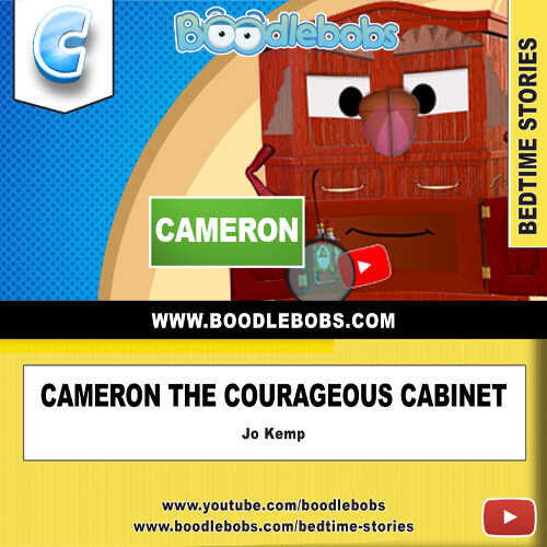 Short Stories Cameron The Courageous Cabinet Book Cover