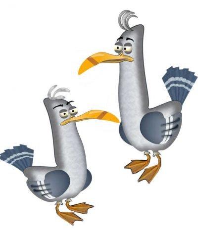 Free Children's Books - The Seaguls