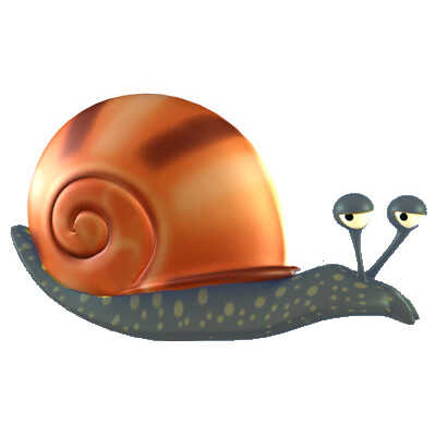 Snodgrass The Snail - BoodleBobs Picture Books