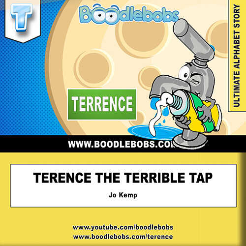 Books For Children Online, Terence The Terrible Tap Book Cover