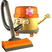 Vera the Voracious Vacuum Story Book Character