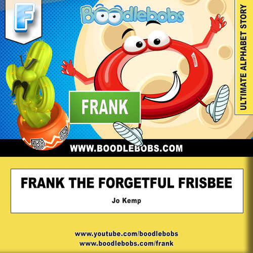 Story books online Frank the Forgetful Frisbee BoodleBobs Free PDF Story Download