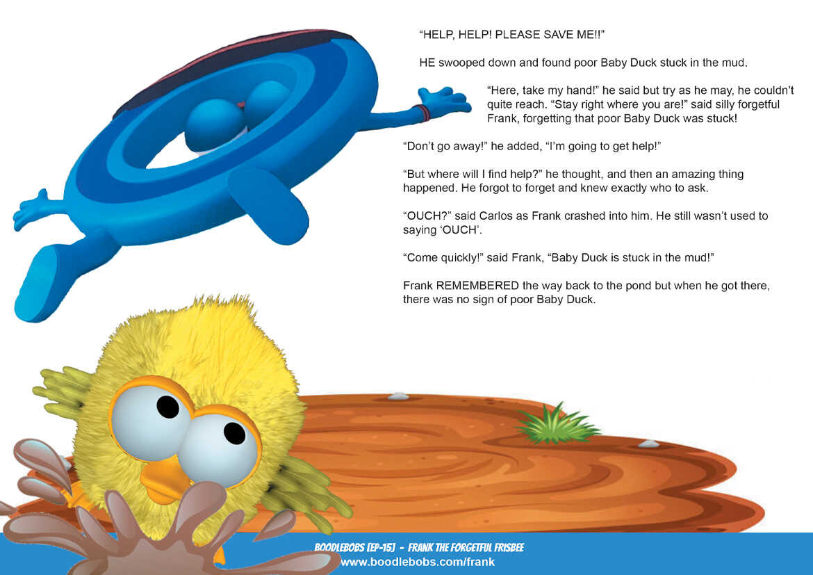Story books online Frank the Forgetful Frisbee BoodleBobs Page 4 PDF