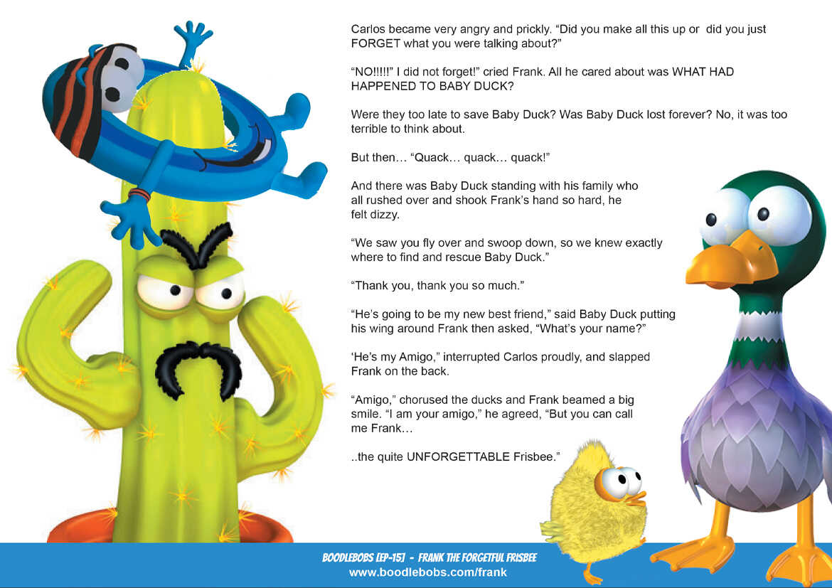 Story books online Frank the Forgetful Frisbee BoodleBobs Page 5 PDF