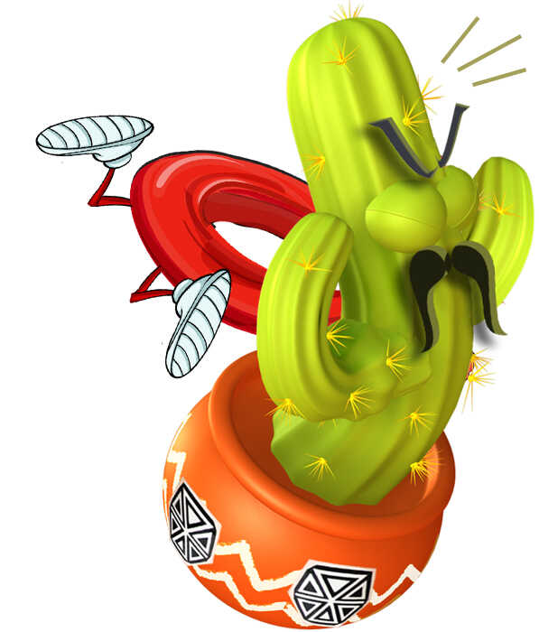 Story Books Online Frank Frisbee Flys In to Carlos Cactus 2