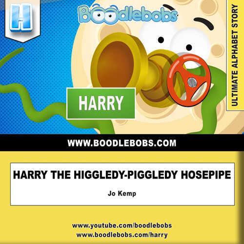 Children Story - Harry the Higgledy-Piggledy Hosepipe Book Cover