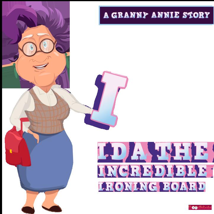 Online kids audiobook – Ida the Incredible Ironing Board
