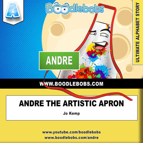 Picture Book - Andre The Artistic Apron - Kids Picture Book