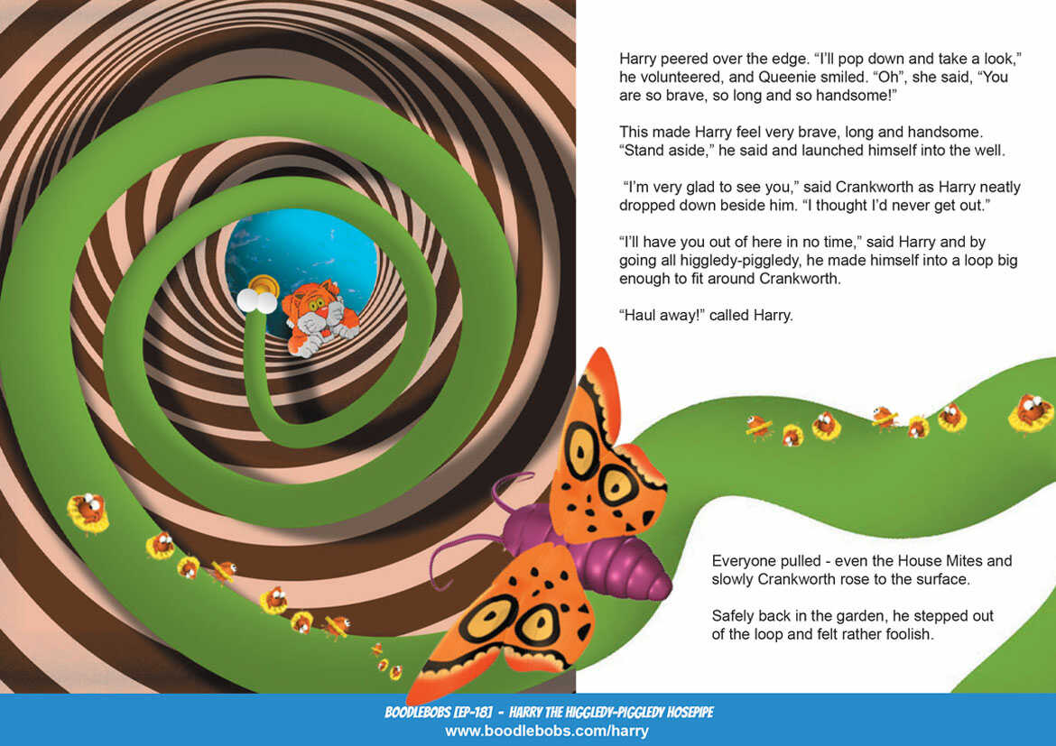 Read Aloud Book, Percy The Peeping Pot Plant Book Page 3