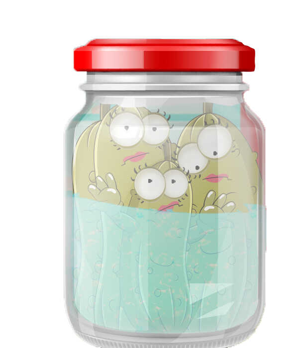 Free Books For Kids, Glenda Sisters Pickle Jar