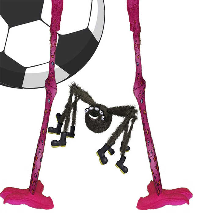 Free Books For Kids Glenda Story - Spicer spider fedora flamingo playing football