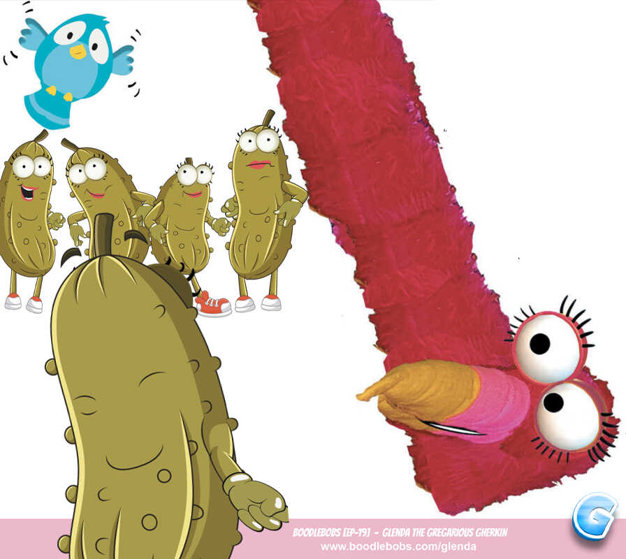 Free Books For Kids, Glenda The Gregarious Gherkin Page 5 BoodleBobs