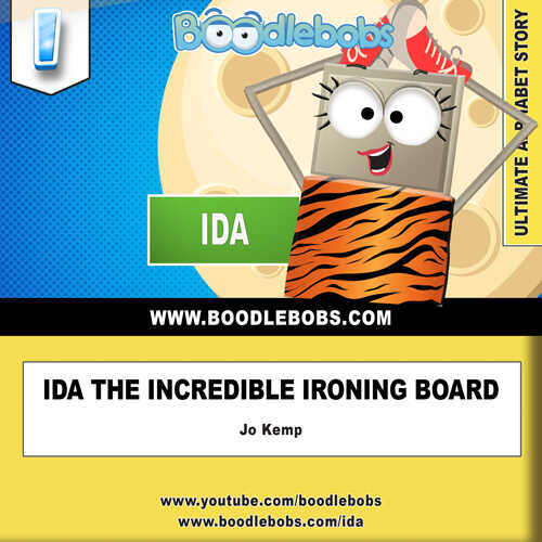 Kids Books Online - Ida the Incredible Ironing Board - Book Cover