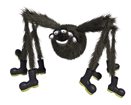Kids Books Online, Spicer The Spider BoodleBobs