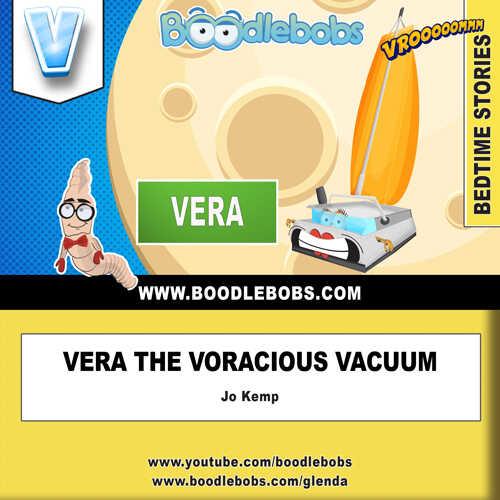 Online Kids Books - Vera The Voracious Vacuum Book Cover