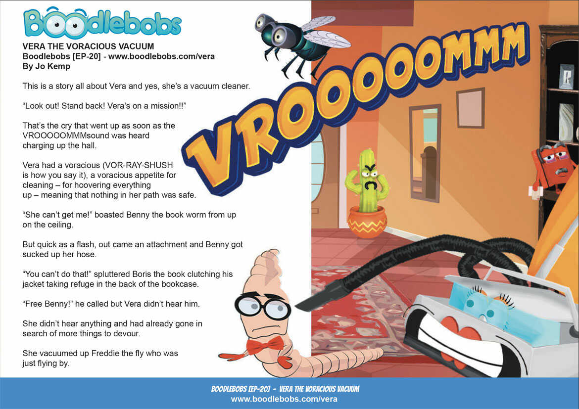 Online Kids Books BoodleBobs EP20 - Vera The Voracious Vacuum Page 1