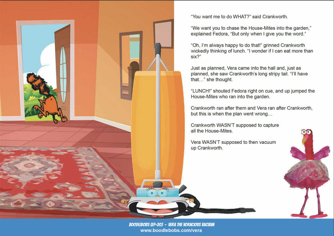 Online Kids Books BoodleBobs EP20 - Vera The Voracious Vacuum Page 3