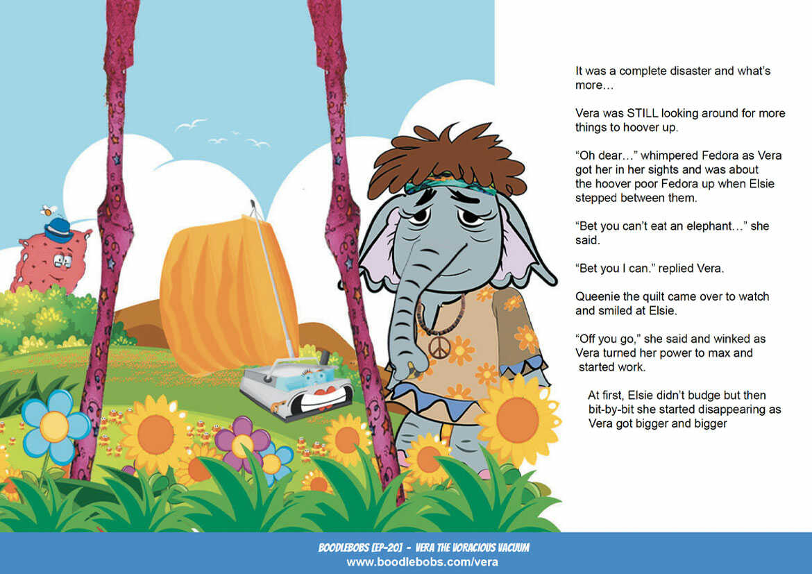 Online Kids Books BoodleBobs EP20 - Vera The Voracious Vacuum Page 4