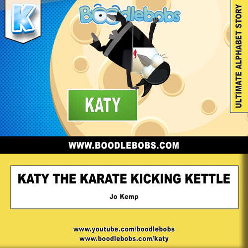 Free Bedtime Stories For Kids, Katie the Karate Kicking Kettle Book Cover