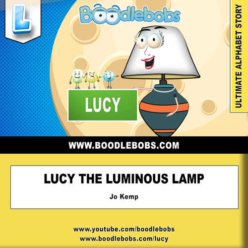 Storybooks Online, Lucy the Luminous Lamp Book Cover
