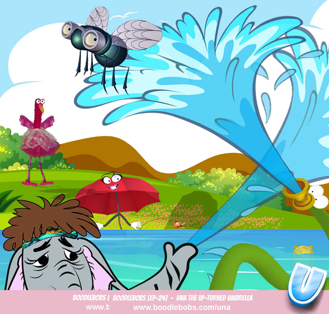 Stories for Kids, Una the Upturned Umbrella Page 5