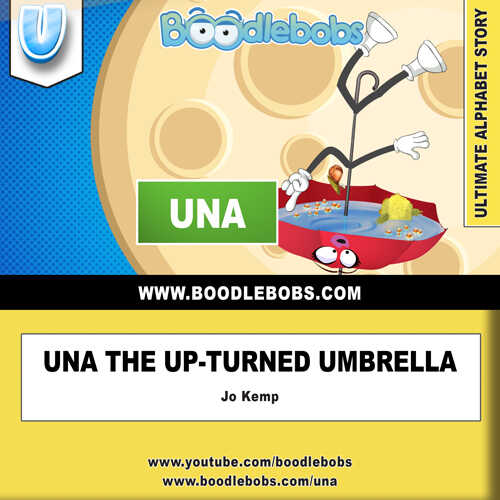 Stories for Kids, Una the Upturned Umbrella Audiobook and PDF Book Cover