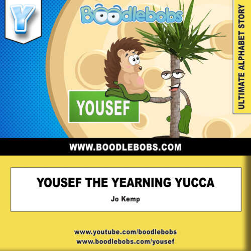 Free Children's Books - Yousef the Yearning Yucca Book Cover