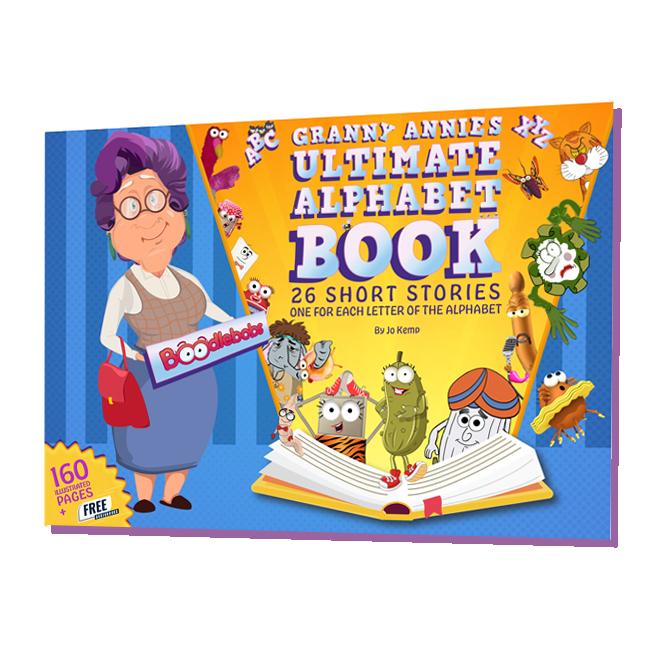 Grannie Annie Ultimate Alphabet Book Ida Online Kids Book
