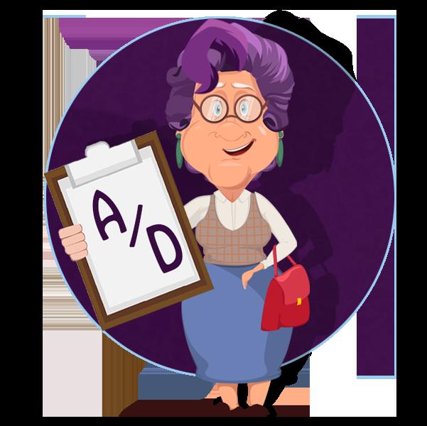 Patricia's Character Glossary