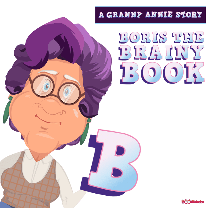 Bedtime Stories For Kids - Boris The Brainy Book Cover
