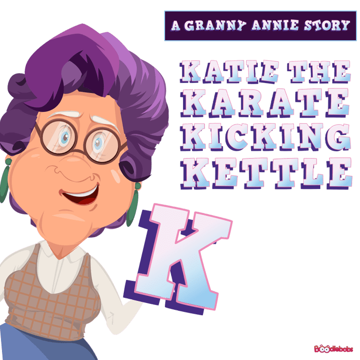 Audiobook Story MP3 - Katie the Karate Kicking Kettle Download