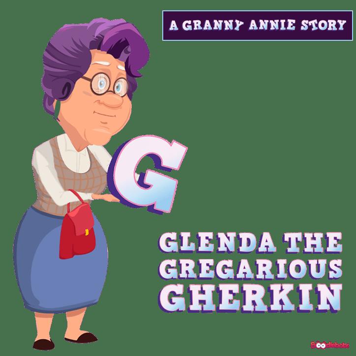 Free Audiobook For Kids – Glenda The Gregarious Gherkin